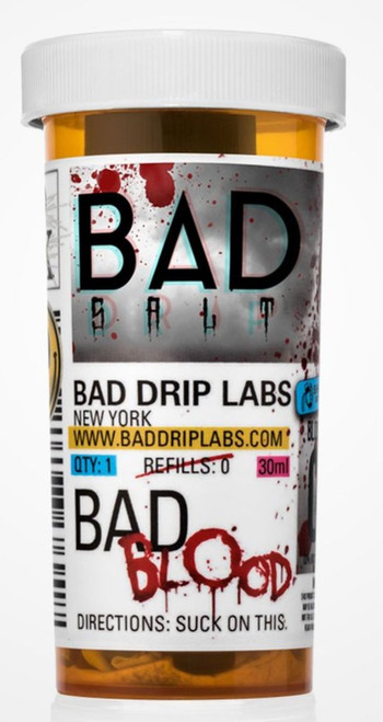 Bad Blood (Nic Salt) | Bad Drip Salts E-Liquid | 30ml