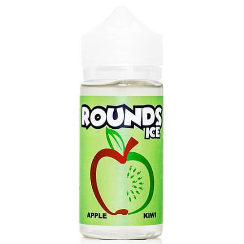 Crisp Apple and Tropical Kiwi mixed together for a mouth watering experience with a cool candy finish!  70% VG