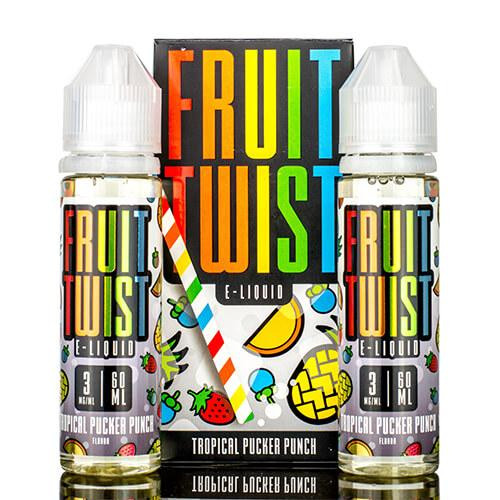 Tropical Pucker Punch | Fruit Twist | 60ml +1 FREE