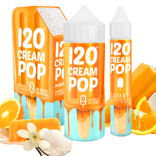 120 Cream Pop by Mad Hatter | 120ml