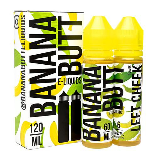 Left Cheek | Banana Butt E-Liquids | 120ml