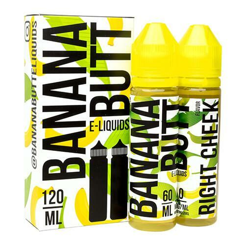 Right Cheek | Banana Butt E-Liquids | 120ml