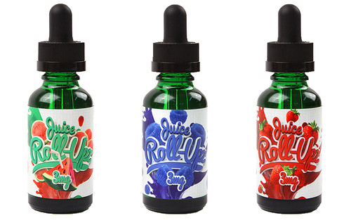 STRAWBERRY BY JUICE ROLL UPZ ONLY $13.99  PER 30 ML BOTTLE CLOSE OUT!