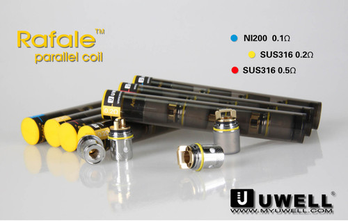UWELL RAFALE COILS GENUINE AUTHENTIC ONLY $9.99 PER 4 Pack