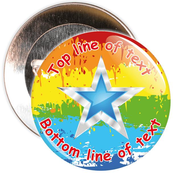 Customisable Generic School Award Badge 12