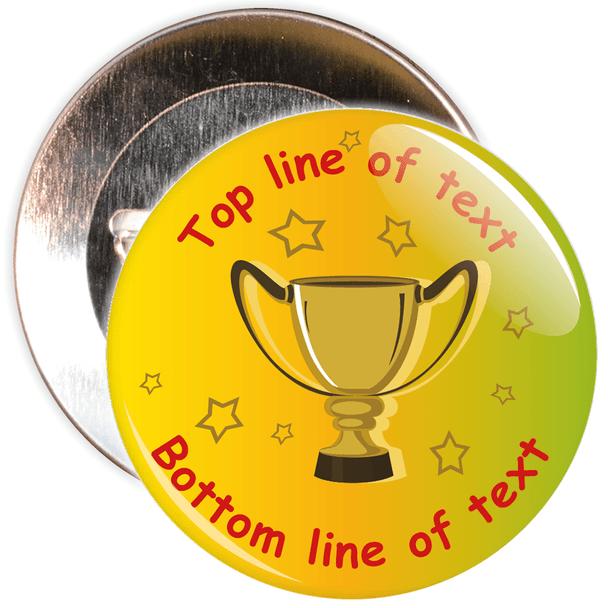 Customisable Generic School Award Badge 4