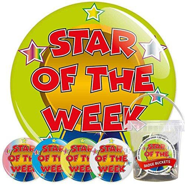 School Star of The Week Badge Bucket 1