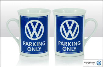 VW Bone China Mug - Parking Only (70188)