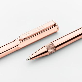 Ted Baker Rose Gold Ballpoint Pen (TED273)