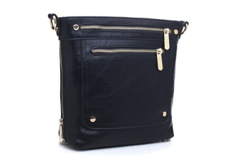 Bessie London Messenger Bag (BL2755) in Black