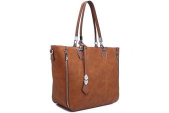 Bessie London Shopper Bag (BB2888) in Brown