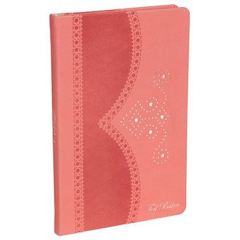 Ted Baker Coral Brogue A5 Notebook
