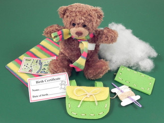 Travel Bear Teddy in a Tin - Gift in a Tin (101276)