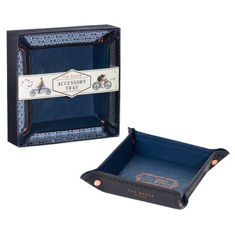 Ted Baker Black Brogue Accessory Tray (TED159)