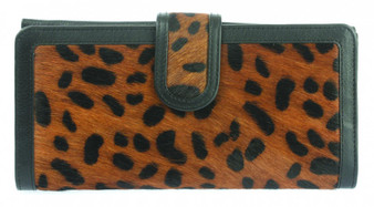 Leather Animal Print Wallet Purse (75042)