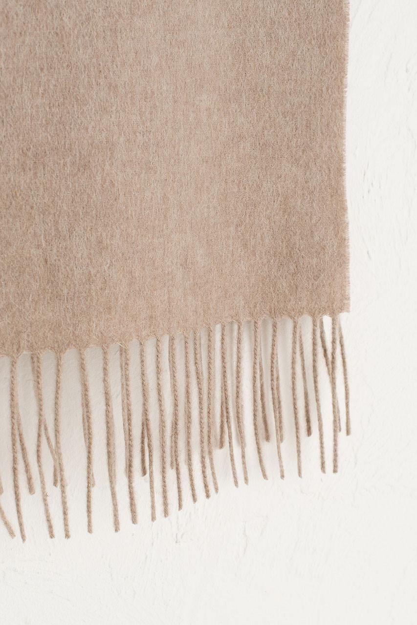 A/W 19 Mini Wool Scarf, Oatmeal