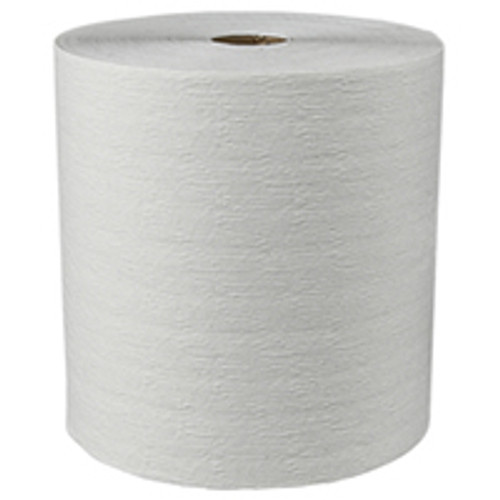 "Kleenex  8"" x 600ft Hard Roll Towels - White (Case of 6)"