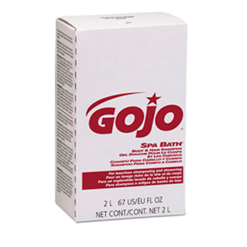 Gojo NXT Maximum Capacity 2000ml Spa Bath Body & Hair Shampoo Refills (Case of 4)