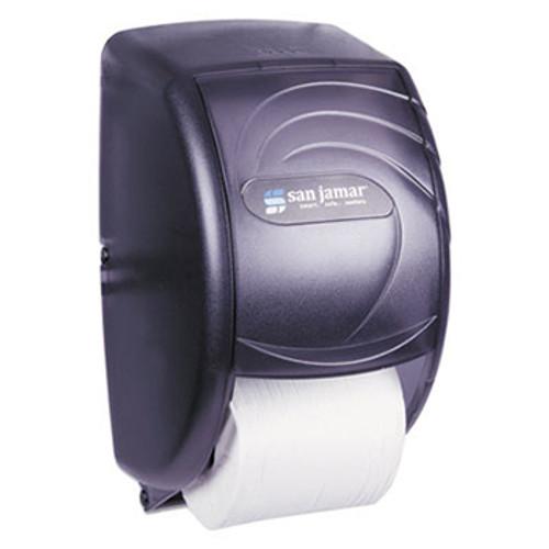 San Jamar Oceans Duett Standard Tissue Dispenser - Black Pearl