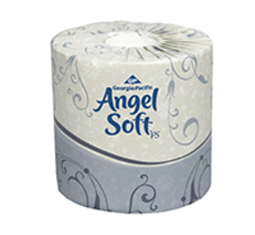 Angel Soft Professional Series Premium Standard Two-Ply Bathroom Tissue Rolls (Case of 40)