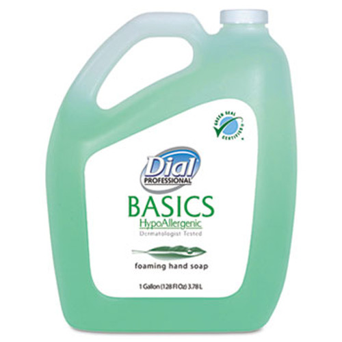 Dial Basics Foaming Hand Soap Gallons (Case of 4)