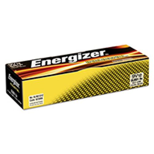 Energizer Industrial Alkaline 9Volt Batteries (Box of 12)