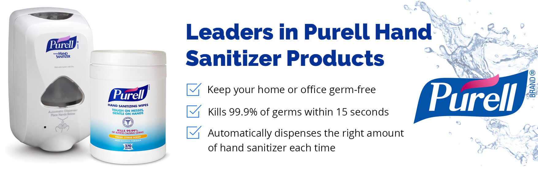 Leaders in purell hand santizer products