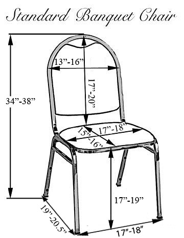 How to Measure Banquet Chair Covers
