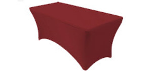 Rectangular Spandex Table Covers