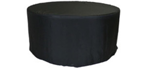 5 ft Round Fitted Polyester Tablecloths