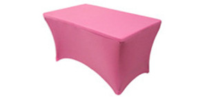 4 ft Rectangular Stretch Spandex Table Covers