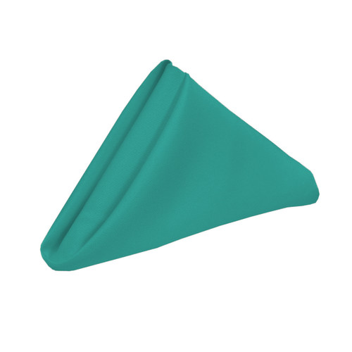 20 inch Polyester Cloth Napkins Teal (Pack of 10)