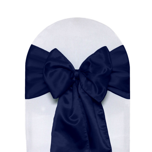 Satin Sashes Navy Blue
