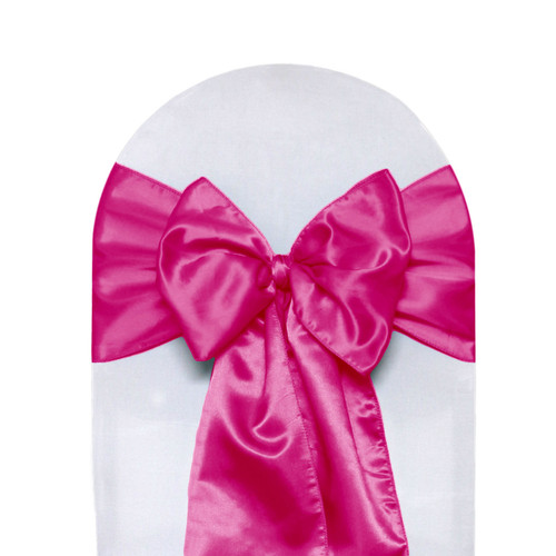 Satin Sashes Fuchsia