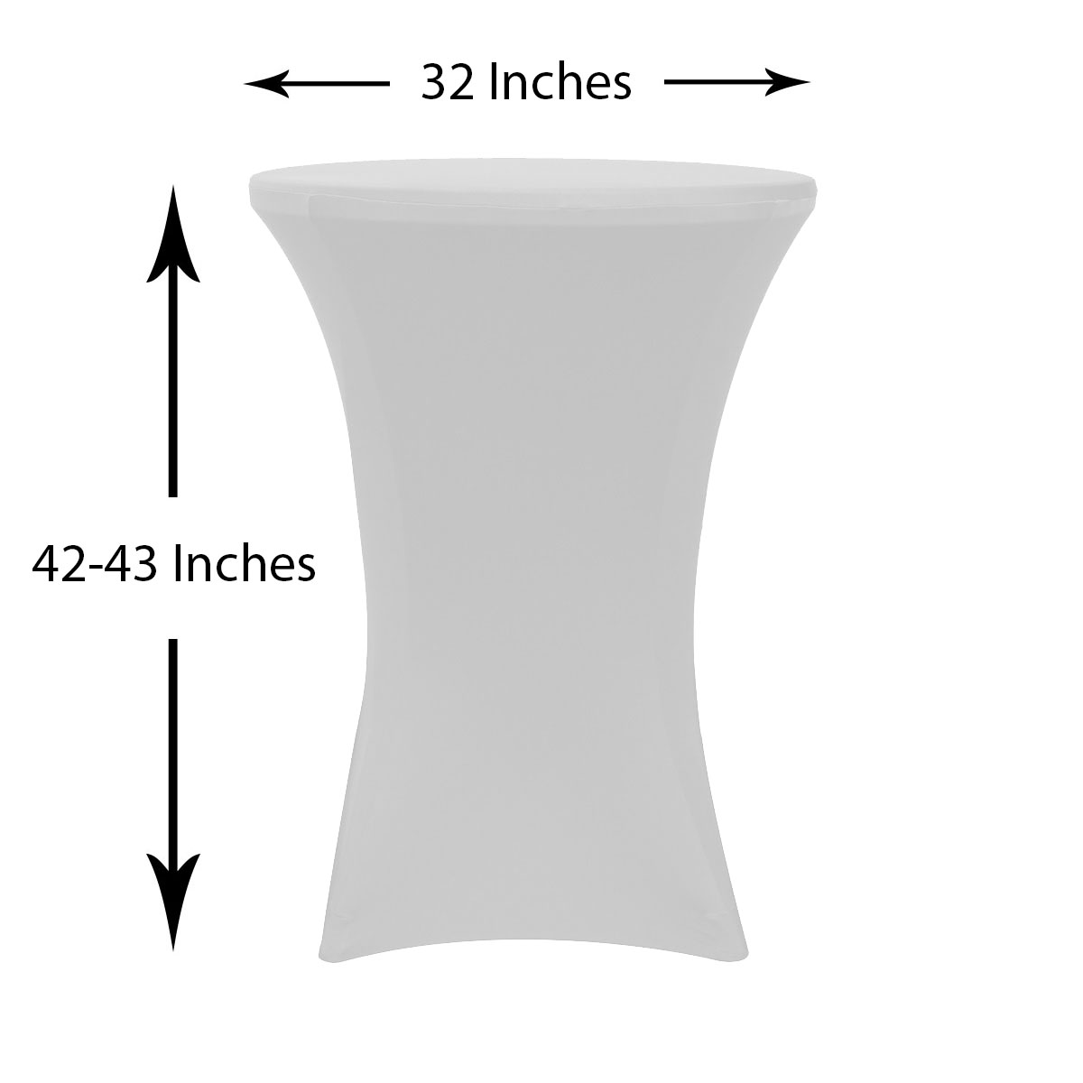 32-inch-highboy-cocktail-spandex-table-covers-white-dimensions.jpg