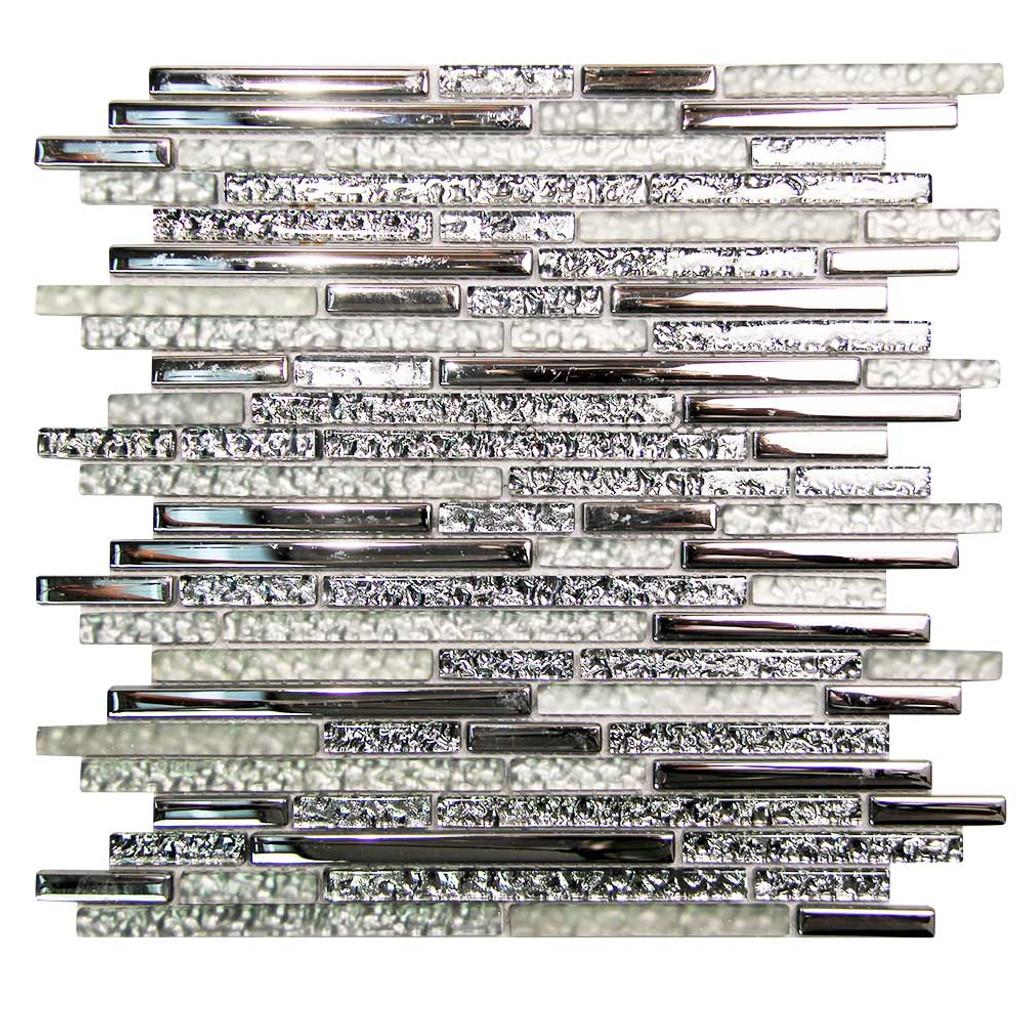 Hebe 001 Mosaic Glass Tile