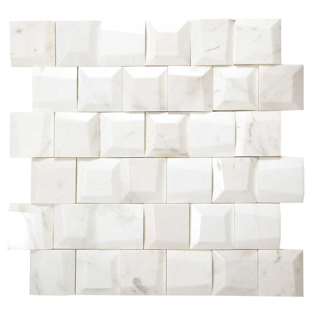 Adamant Volakes Geometric Marble Mosaic Tile