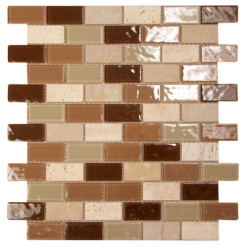 Aqua Series 502 Mosaic Glass Tile
