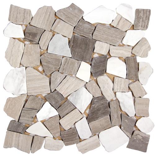 Nuur Athens Mix Mosaic Stone Tile