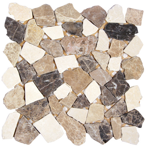 Nuur Spanish Mix Mosaic Stone Tile