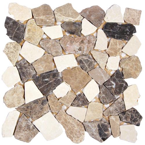 Nuur Spanish Mix Mosaic Stone Tile
