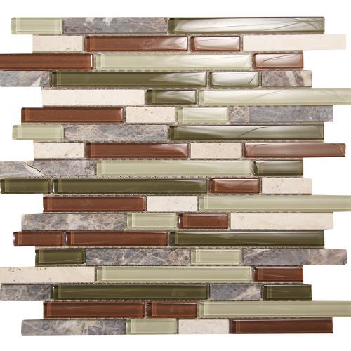 Selene 13 Mosaic Glass Tile
