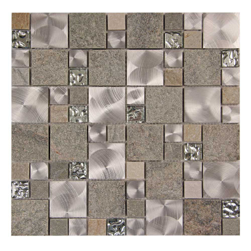 Talos 3 Mosaic French Pattern Stone Tile