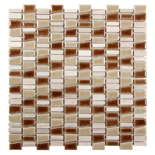 Mirada K Beige Mix Ceramic and Stone Tile