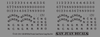 Decal sheet for HOn3 NCNG box car (printed in white).