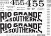 15mm - Fn3 - 1:20.3 Rio Grande Southern Locomotive Set