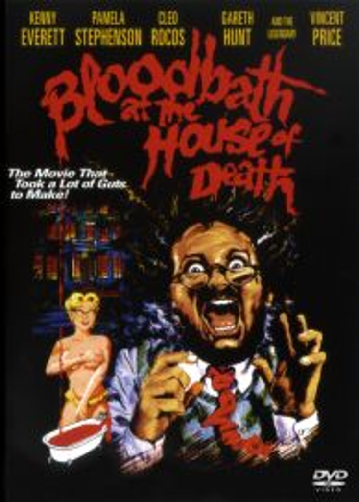 Bloodbath at the House of Death Dvd