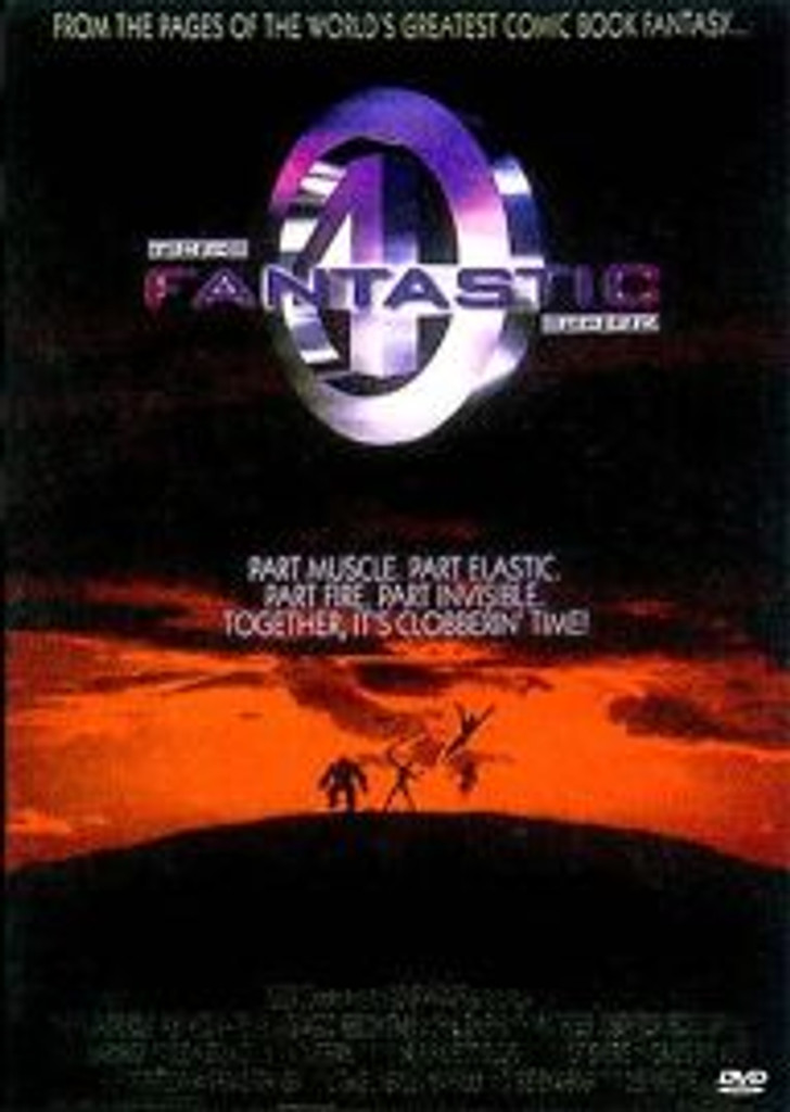 The Fantastic Four 1994 Roger Corman Widescreen Dvd