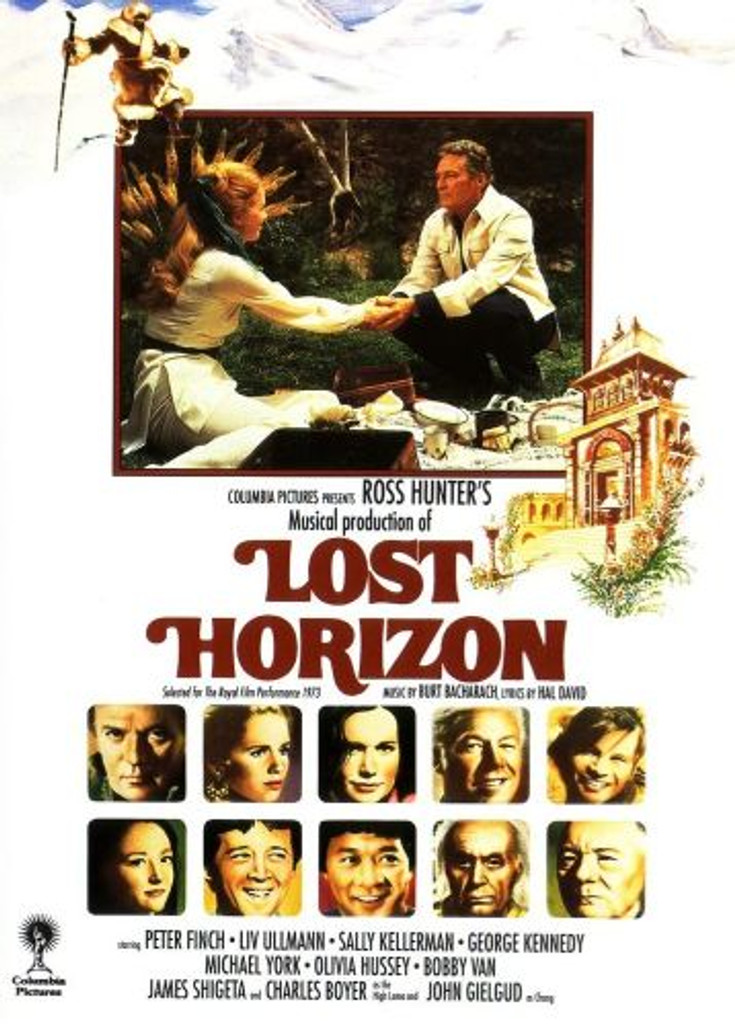 Lost Horizon 1973 Musical Version Restored DVD