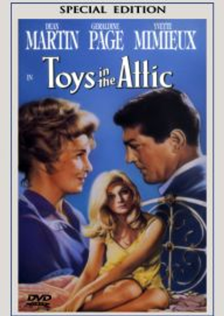 Toys in the Attic Dean Martin DVD